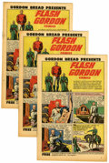 Golden Age (1938-1955):Science Fiction, Flash Gordon #1 Gordon Bread Giveaway - File Copies Group (Harvey,1951) Condition: Average VF/NM.... (Total: 11 Comic Books)