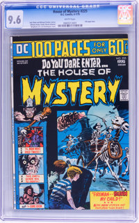 House of Mystery #225 (DC, 1974) CGC NM+ 9.6 White pages