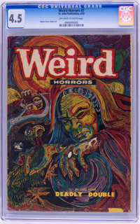 Weird Horrors #7 (St. John, 1953) CGC VG+ 4.5 Off-white to white pages