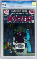 Bronze Age (1970-1979):Horror, House of Mystery #208 (DC, 1972) CGC NM/MT 9.8 White pages....