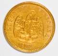 Mexico, Mexico: Republic gold Peso 1901Mo-M,...