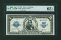 Large Size:Silver Certificates, Fr. 282 $5 1923 Silver Certificate Star Note PMG Gem Uncirculated65 EPQ....