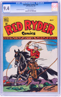 Golden Age (1938-1955):Western, Red Ryder Comics #70 (Dell, 1949) CGC NM 9.4 Off-white to whitepages....