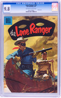 Silver Age (1956-1969):Western, Lone Ranger #92 (Dell, 1956) CGC NM/MT 9.8 Off-white to whitepages....