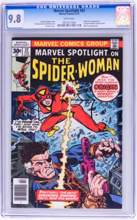 Marvel Spotlight #32 Spider-Woman (Marvel, 1977) CGC NM/MT 9.8 White pages
