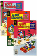 Bronze Age (1970-1979):Cartoon Character, Walt Disney's Comics and Stories File Copies Group (Gold Key,1978-79) Condition: Average NM.... (Total: 17 Comic Books)