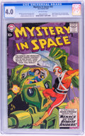 Silver Age (1956-1969):Superhero, Mystery in Space #53 (DC, 1959) CGC VG 4.0 Off-white pages....