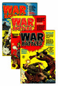 Golden Age (1938-1955):War, War Battles #1-7 and 9 File Copies Group (Harvey, 1952-53) Condition: Average VF.... (Total: 8 Comic Books)