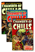 Golden Age (1938-1955):Horror, Chamber of Chills File Copy Group (Harvey, 1952-54) Condition:Average VG.... (Total: 14 Comic Books)