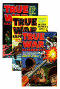 Golden Age (1938-1955):War, True War Experiences #1-4 File Copies Group (Harvey, 1952)Condition: Average VF/NM.... (Total: 4 Comic Books)