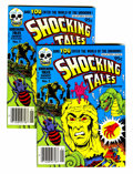 Modern Age (1980-Present):Horror, Shocking Tales Digest Magazine #1 File Copy Group (Harvey, 1981)Condition: Average NM+.... (Total: 2 Comic Books)