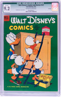 Golden Age (1938-1955):Cartoon Character, Walt Disney's Comics and Stories #147 File Copy (Dell, 1952) CGCQualified NM- 9.2 Off-white to white pages....