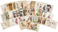 Political:Small Paper (1896-present), Woman's Suffrage: Forty-one American Cartoon and Comic Postcards.... (Total: 41 Items)