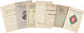 Political:Miscellaneous Political, Woman's Suffrage: Seven English Pamphlets... (Total: 7 Items)