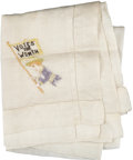 Political:Textile Display (1896-present), Woman's Suffrage: Suffragette Handkerchief....