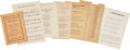 Political:Small Paper (1896-present), Woman's Suffrage: Suffrage Songs and Poems.... (Total: 8 Items)