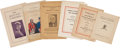Political:Small Paper (1896-present), Woman's Suffrage: Suffrage Pamphlets.... (Total: 6 Items)