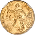 Italy, Italy: Papal States. Clement XII gold Zecchino 1739,...