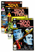 Modern Age (1980-Present):Science Fiction, Star Trek #1-18 Group (Marvel, 1980-82) Condition: AverageVF/NM.... (Total: 26 Comic Books)