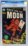 Golden Age (1938-1955):Science Fiction, Race For the Moon #3 File Copy (Harvey, 1958) CGC VF 8.0 Cream to off-white pages....