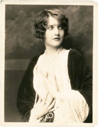 """Barbara Stanwyck by Alfred Cheney Johnston (1928). Theater Portrait (11"""" X 14"""")"""