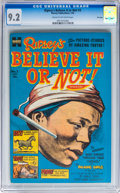 Golden Age (1938-1955):Non-Fiction, Ripley's Believe It or Not! #3 File Copy (Harvey, 1954) CGC NM- 9.2Cream to off-white pages....