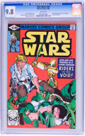Modern Age (1980-Present):Science Fiction, Star Wars #38 (Marvel, 1980) CGC NM/MT 9.8 White pages....