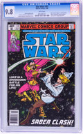 Modern Age (1980-Present):Science Fiction, Star Wars #33 (Marvel, 1980) CGC NM/MT 9.8 White pages....