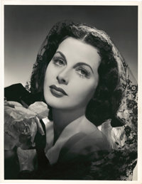 "Hedy Lamarr in ""Her Highness and the Bellboy"" by Eric Carpenter (MGM, 1945). Portrait (10.25"" X 13"")..."