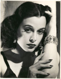 "Movie Posters:Miscellaneous, Hedy Lamarr by Robert Coburn (United Artists, 1938). Portrait Still (10"" X 12.75"").. ..."