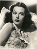 """Movie Posters:Miscellaneous, Hedy Lamarr by Robert Coburn (United Artists, 1938). Portrait Still (9.75"""" X 12.75"""").. ..."""