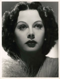 "Movie Posters:Drama, Hedy Lamarr in ""Boom Town"" by Laszlo Willinger (MGM, 1940).Portrait (10"" X 13"").. ..."