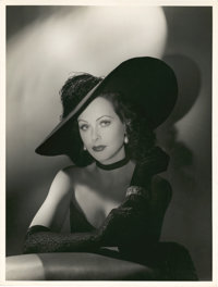 "Hedy Lamarr in ""The Heavenly Body"" by Laszlo Willinger (MGM, 1943). Portrait Still (10"" X 13"")"