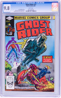 Modern Age (1980-Present):Superhero, Ghost Rider #71 (Marvel, 1982) CGC NM/MT 9.8 White pages....