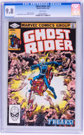 Modern Age (1980-Present):Superhero, Ghost Rider #70 (Marvel, 1982) CGC NM/MT 9.8 White pages....
