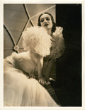 "Movie Posters:Drama, Joan Crawford in ""Letty Lynton"" by George Hurrell (MGM, 1932). Portrait (10"" X 13"").. ..."