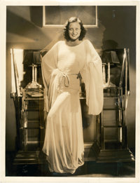 "Joan Crawford by George Hurrell (MGM, 1930s). Portrait (10"" X 13"")"