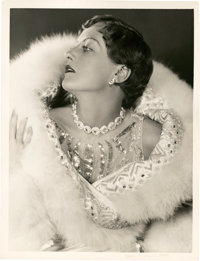 """Joan Crawford in """"Dream of Love"""" by Ruth Harriet Louise (MGM, 1928). Portrait (10"""" X 13"""")"""