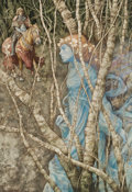 Works on Paper, BRIAN FROUD (English, b. 1947). The Elfin Maid, The Land of Froud illustration, 1976. Watercolor on board. 22.75 x 15.75...