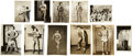 Basketball Collectibles:Photos, 1930's-40's Early Basketball Greats Signed Photographs Lot of19....