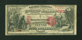 National Bank Notes:Wisconsin, Neenah, WI - $5 1875 Fr. 403 The Manufacturers NB Ch. # 2603. ...