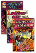 Bronze Age (1970-1979):Romance, Haunted Love Group (Charlton, 1973-75).... (Total: 7 Comic Books)