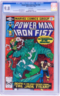 Modern Age (1980-Present):Superhero, Power Man and Iron Fist #66 (Marvel, 1980) CGC NM/MT 9.8 White pages....