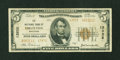 National Bank Notes:Wisconsin, Edgerton, WI - $5 1929 Ty. 2 The NB Ch. # 13932. ...