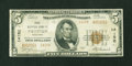 National Bank Notes:Wisconsin, Tigerton, WI - $5 1929 Ty. 2 First NB Ch. # 14150. ...