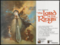 """Movie Posters:Animated, The Lord of the Rings (United Artists, 1978). British Quad (30"""" X40""""). Animated.. ..."""