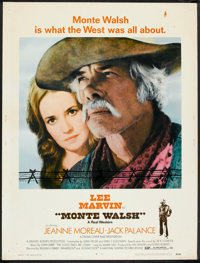 """Monte Walsh (National General, 1970). Poster (30"""" X 40""""). Western"""