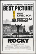 "Movie Posters:Sports, Rocky (United Artists, 1977). One Sheet (27"" X 41"") Academy Award Style B. Sports.. ..."