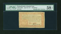 Colonial Notes:Pennsylvania, Pennsylvania April 10, 1777 40s Red and Black PMG Choice About Unc 58 EPQ....