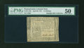 Colonial Notes:Pennsylvania, Pennsylvania April 20, 1781 15s PMG About Uncirculated 50....